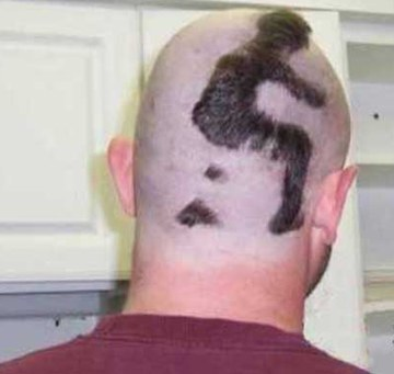 While we're showing some crazy haircuts here's a few i came across