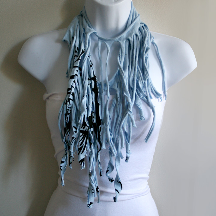 Indie Fashion and Beauty: DIY T-Shirt Scarves - How to ...