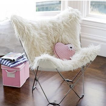 Fuzzy Desk Chair 24 Hour Office Chairs Finley's Finds: Fun, Fabulous, Furry For Your Kid's Room (or Yours!)