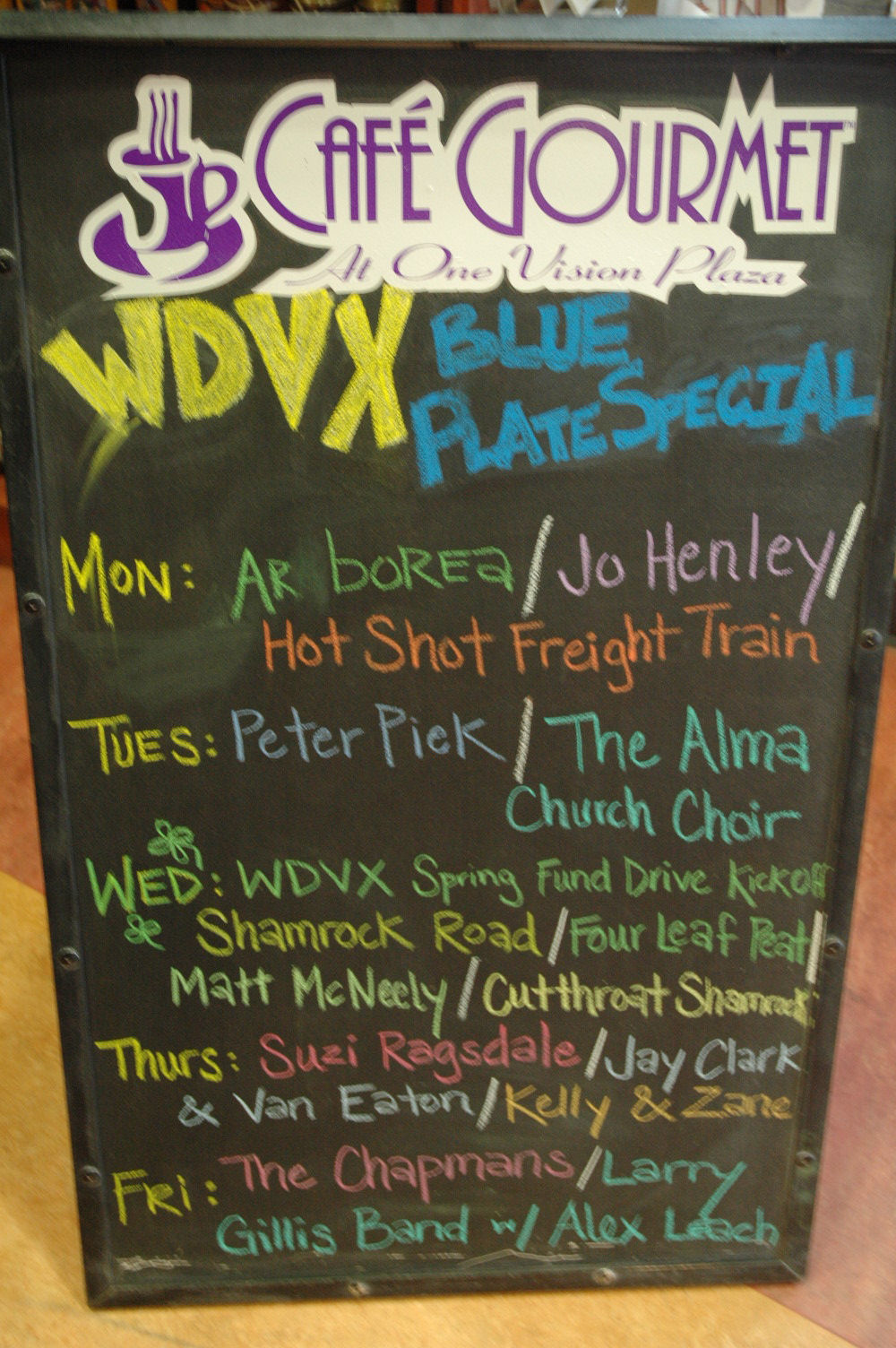 Arborea: Arborea on the Blue Plate Special WDVX in Knoxville