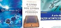 Promoções Super Interessante - Livros Quem Somos Nós?, O Livro dos Livros Perdidos, A Arte de Fazer Acontecer