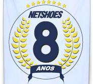 Promoção 8 anos Netshoes