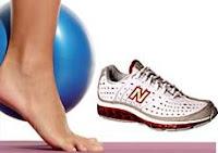 Promoções Revista Boa Forma - Tênis New Balance e Overballs