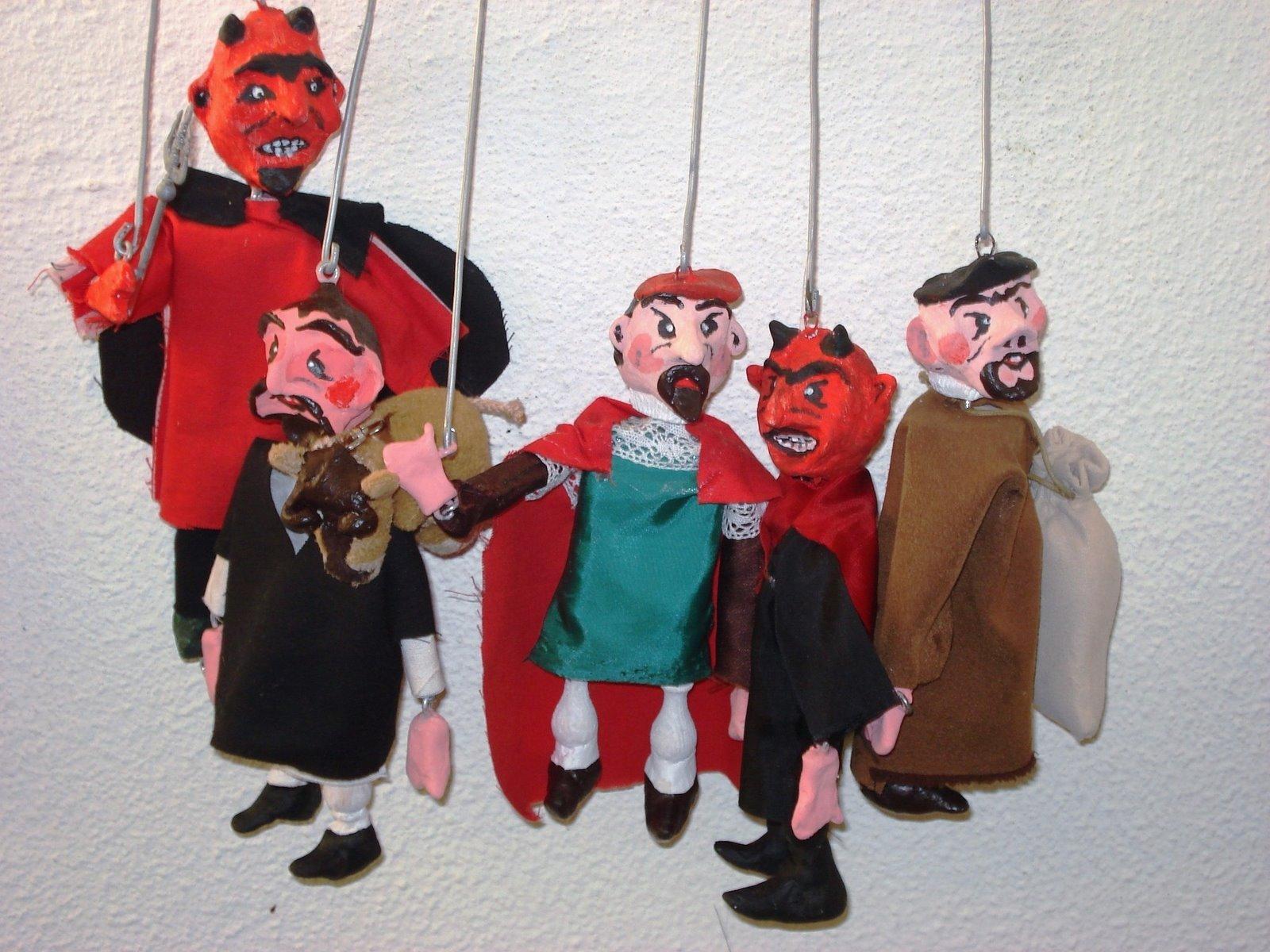 """Marionetas """"Bonus Frater"""""""
