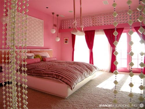 fabulous home decorating ideas bedrooms | Think Pretty n Pink!: The Fab Five: Pink Bedrooms