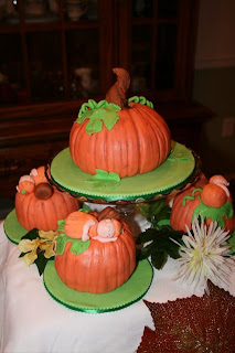 Cakes By Jyl Pumpkin Baby Shower Cake And Pumpkin Cupcakes