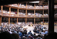 Audience at the Globe Theatre