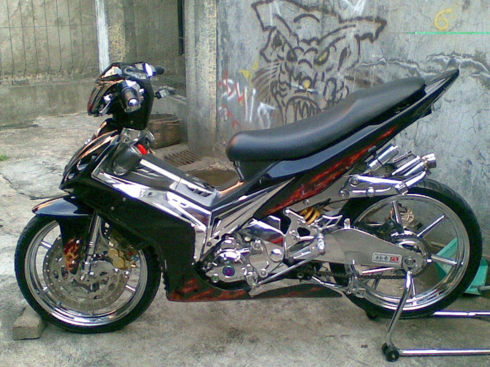 Modif Tiger Scorpio Vixion Bison Gl Pro Accessories Motor Mega