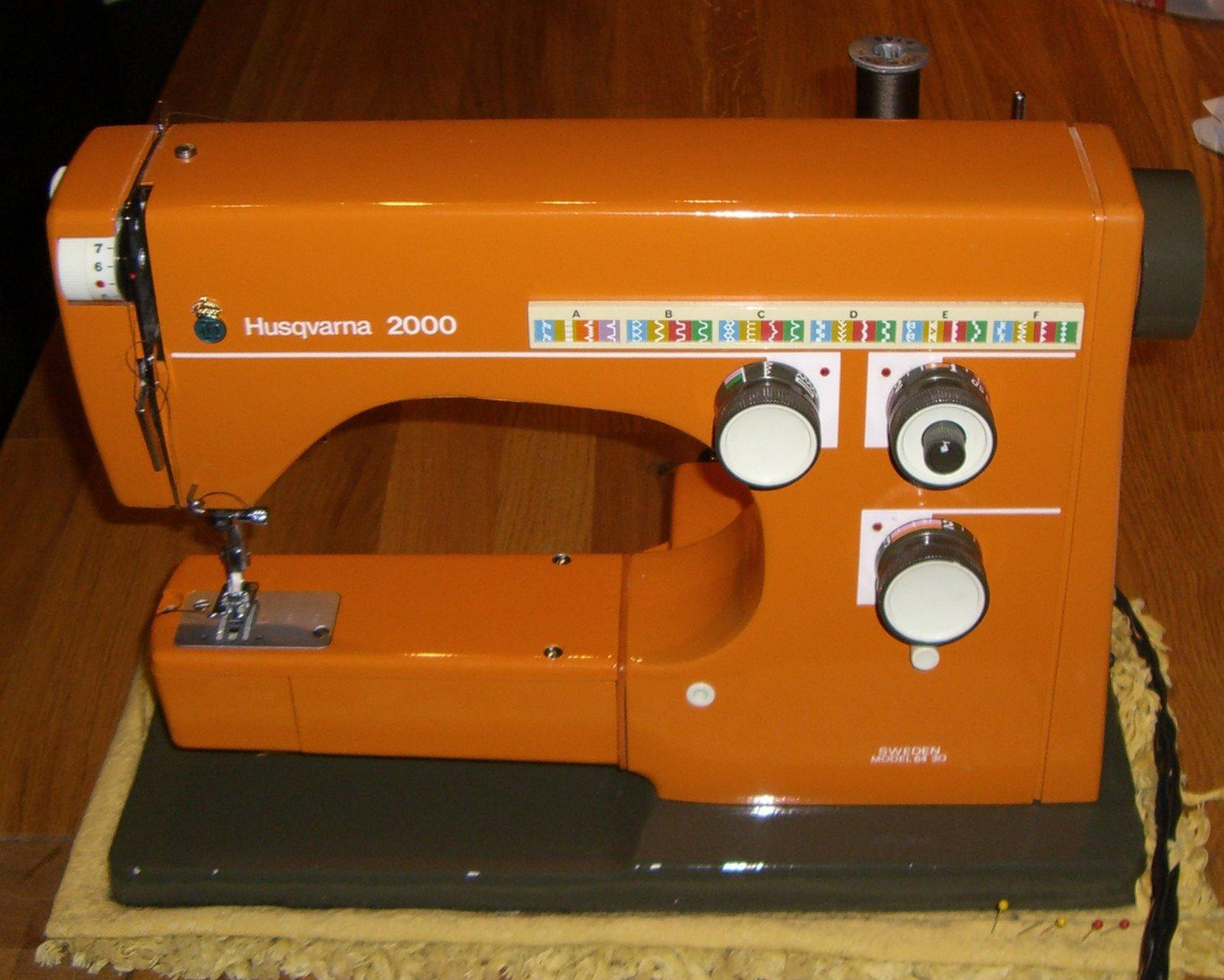 gamle husqvarna symaskiner