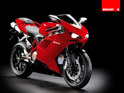 Sport bike Motorcycle Ducati 848 Superbike 2008