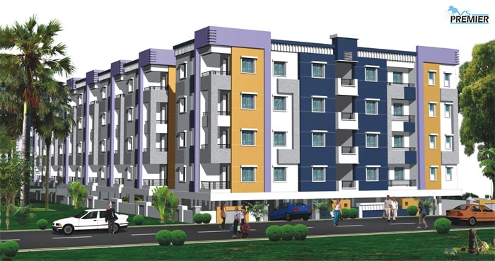 V S Premier's - 2,3 b/r Luxury Independent Flats for Sale @ Nizampet Main Road