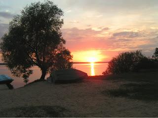 Stellplatz: Blick auf den See