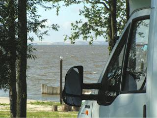 Camping Ventaine: Blick auf Kurisches Haff
