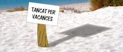Resultado de imagen de TANCAT PER VACANCES