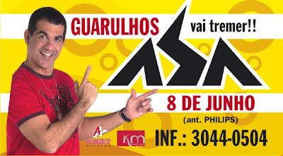 84913eba81 Asa de Águia toca em Guarulhos