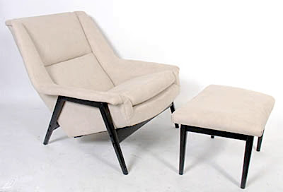Excellent Ebay Find Of The Day Danish Modern Lounge Chair And Ottoman Pdpeps Interior Chair Design Pdpepsorg