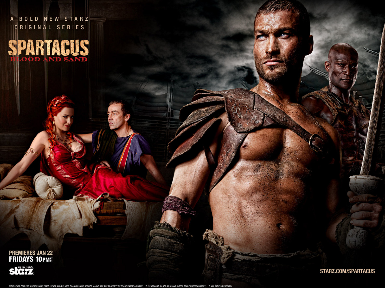 superpop Spartacus  blood and sand