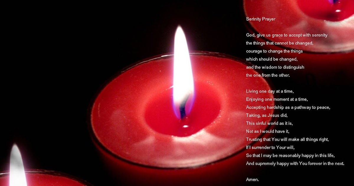 Inspirational Quotes Wallpaper: Candle Wallpaper- Serenity