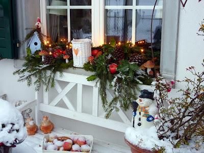 Bluemli garten november 2010 - Stylische weihnachtsdeko ...