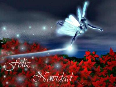 Resultado de imagen de angeles y hadas de navidad