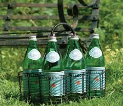 Flaskhållare för 6 flaskor