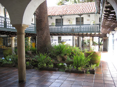 Colombian Courtyards