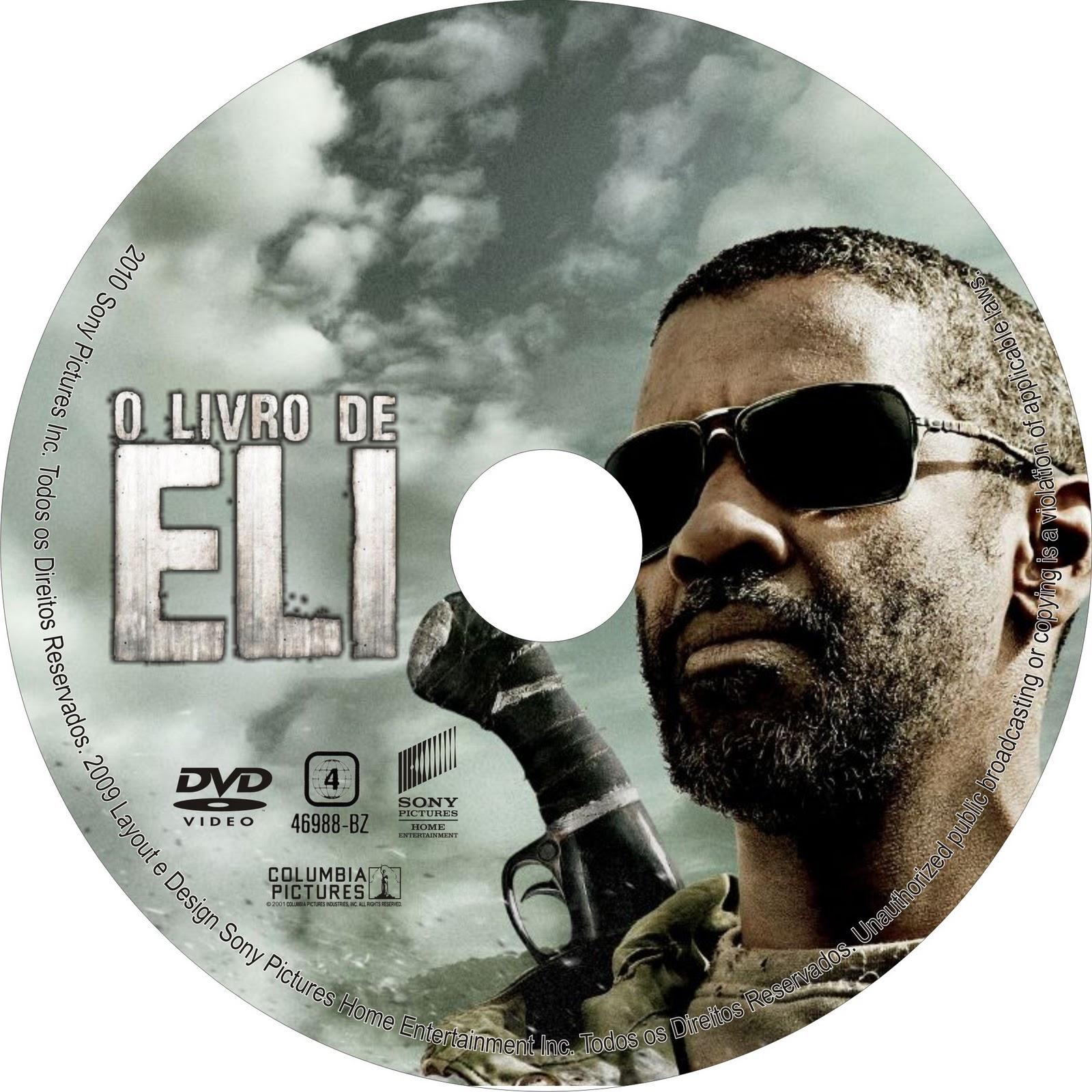 Capa Label e Filme - O Livro de Eli