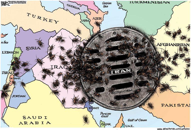 Iran is spreading like ants