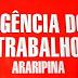 EMPREGO - CONFIRA AS VAGAS ATUALIZADAS E DISPONÍVEIS ATRAVÉS DA AGÊNCIA DO TRABALHO EM ARARIPINA