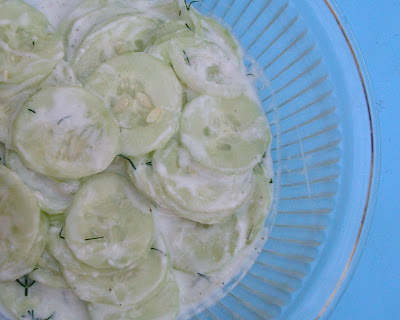 Creamy Dilled Cucumber Salad Recipes — Dishmaps