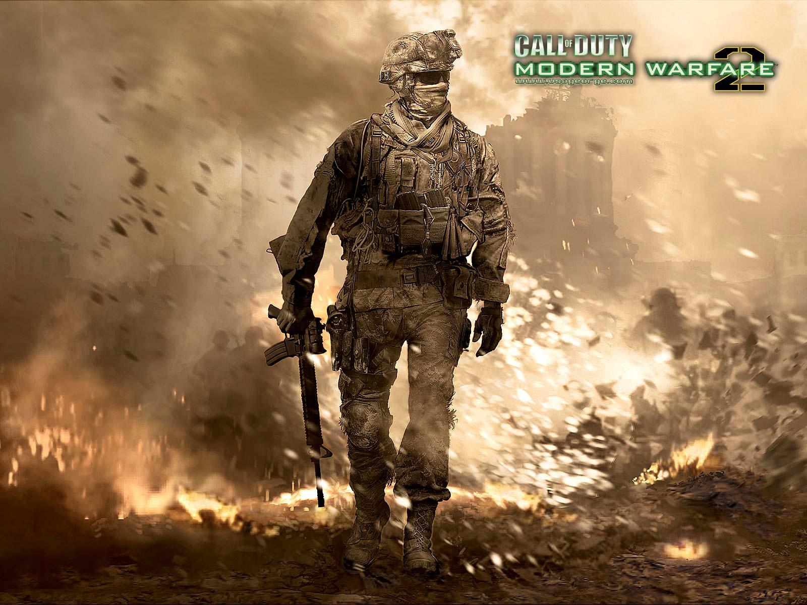 Call Of duty modern Warfare 2ž