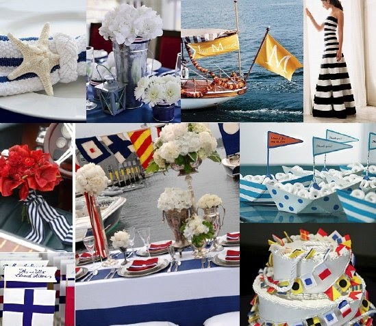 The Wedding Decorator: Nautical Themed Wedding In Gibraltar