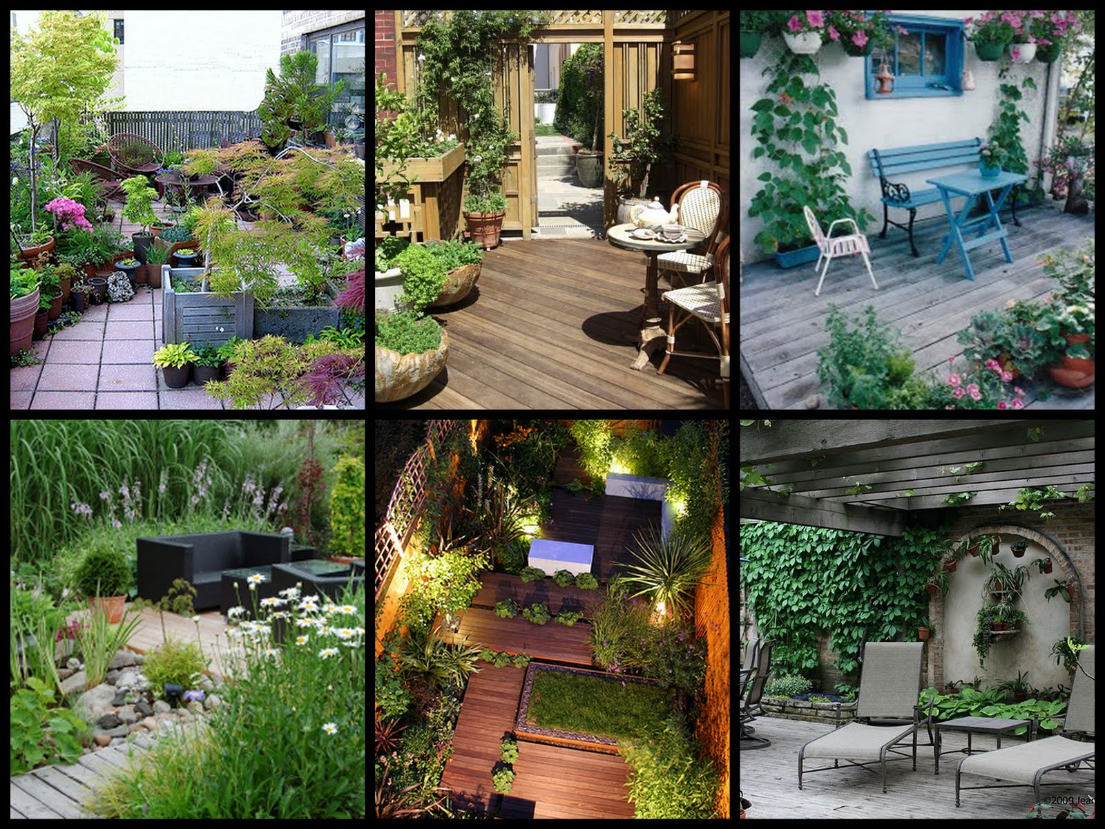 8 Small Gardens That Will Inspire You In Any Season: Just Another Girl's Blog: Patio And Veranda Gardens. . .I