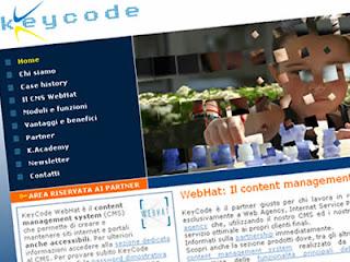 sito keycode del cms italiano webhat