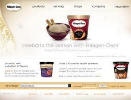 Promotion strategy haagen dazs