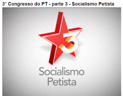 Mensagem subliminar do Socialismo Petista, usando o número 3)