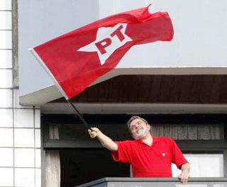 Lula viajando na maionese.
