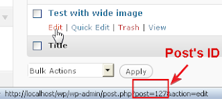 Define Comment ID, Source Post ID And Destination Post ID