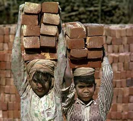 """degree of thought """"child labour a social disease"""" hethono sumi  more than 1 2 million children are trafficked every year is one of the countries the highest number of prostitutes"""