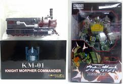 KM-01 Knight Morpher & WB001 Warbot Defender Restock