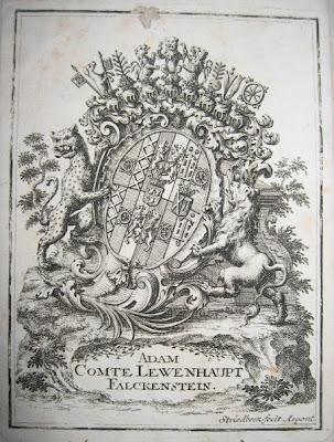 Vexin. EX-LIBRIS de Charles-François CLÉRY DE SÉRANS