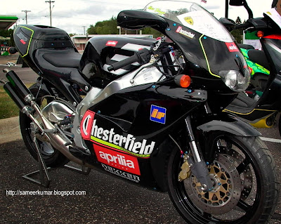 The Aprilia RS250 - a GP bike