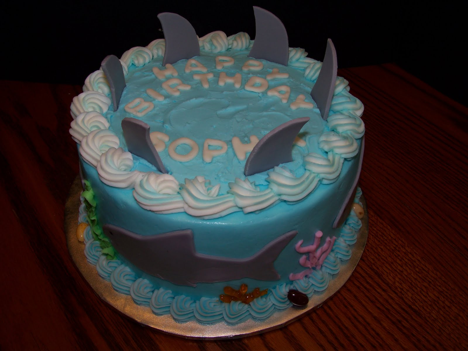 Wine Country Cakes Shark Cake