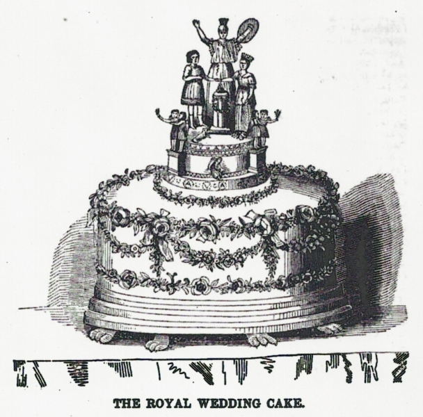 Two Nerdy History Girls Queen Victoria S Wedding Cake