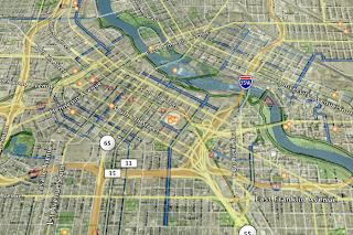 HumbleDan: Minneapolis Bike Map Google Earth Overlay