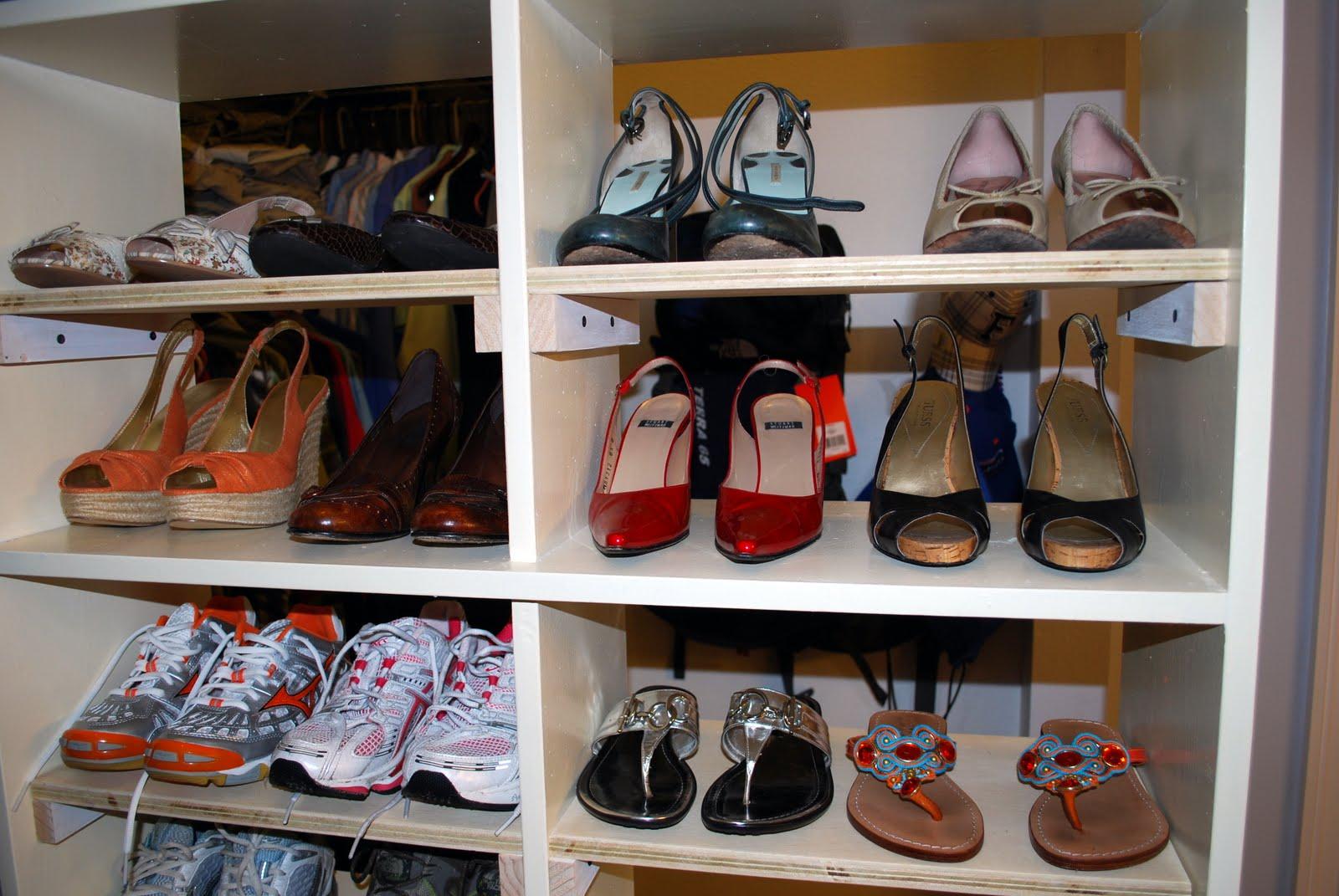 Shoe Closet Storage: Guest Remodel