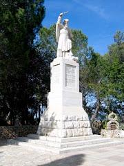 Estatua de Santo Elias - Haifa - Israel