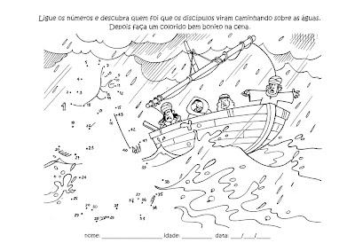 Escolinha Bíblica da Garotada: Para colorir: O vento e o
