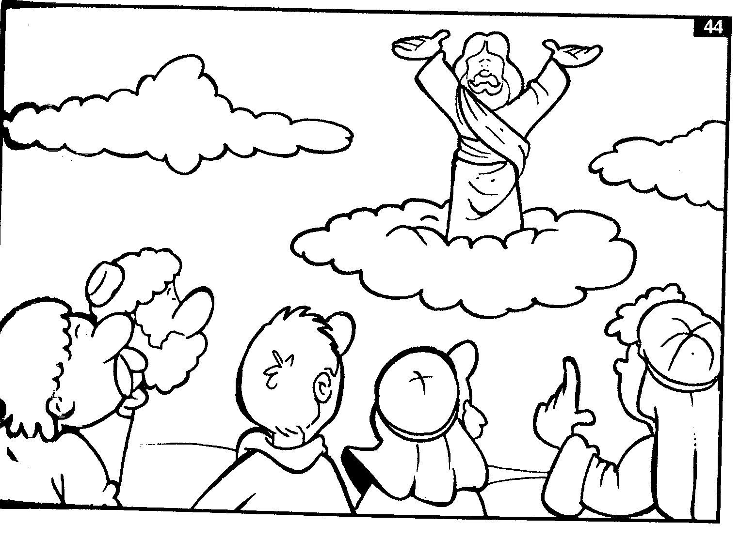 escolinha bíblica da garotada trabalhinhos para colorir jesus