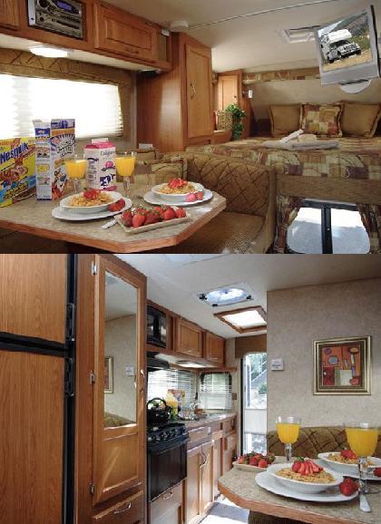 RV Model TC A Maxi Travel Camper